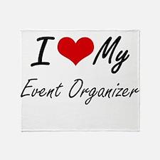 I love my Event Organizer Throw Blanket