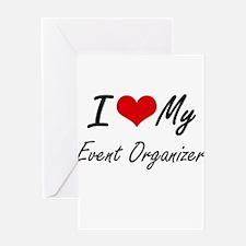 I love my Event Organizer Greeting Cards