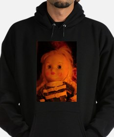 old Polish doll up close Hoodie (dark)