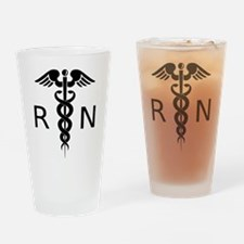 Nurse RN Drinking Glass