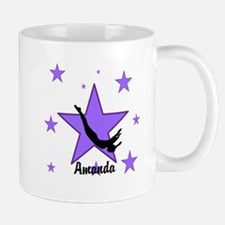 Purple Trampoline Star Mugs