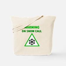 Snow Call Tote Bag