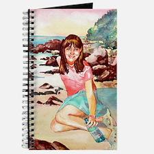 Girl on a Beach Journal