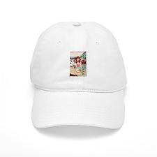 Girl on a Beach Baseball Cap