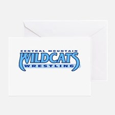 Central Mountain Wrestling 1 Greeting Card