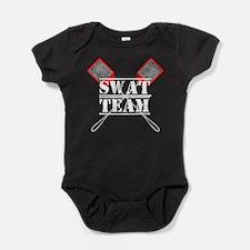 SWAT Team for Dark Baby Bodysuit