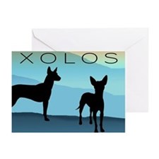 Blue Mountain Xolo Greeting Cards (Pk of 10)