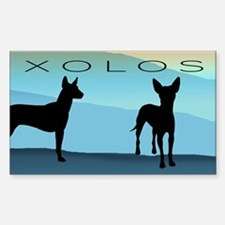 Blue Mountain Xolo Decal