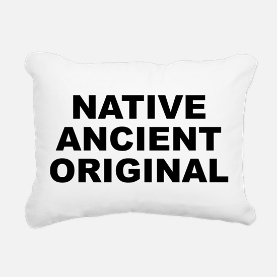 N.a.o. Rectangular Canvas Pillow