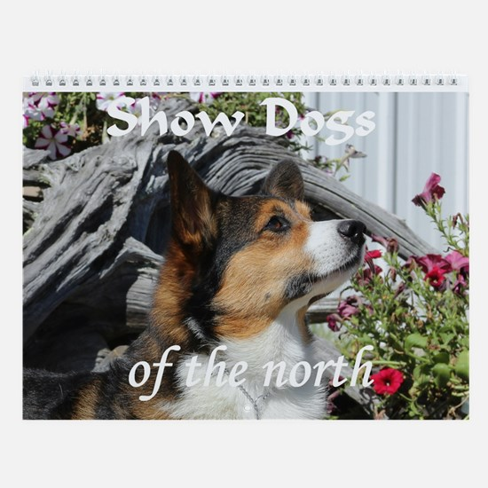 Show Dogs Of The North Wall Calendar