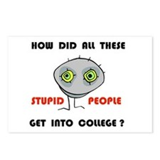 STUPID COLLEGE Postcards (Package of 8)