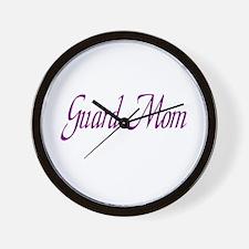 Guard Mom Wall Clock