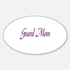 Guard Mom Oval Decal