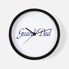 Guard Dad Wall Clock