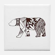 Polar Bear Soul Tile Coaster