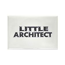 Little Architect Rectangle Magnet
