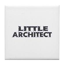 Little Architect Tile Coaster