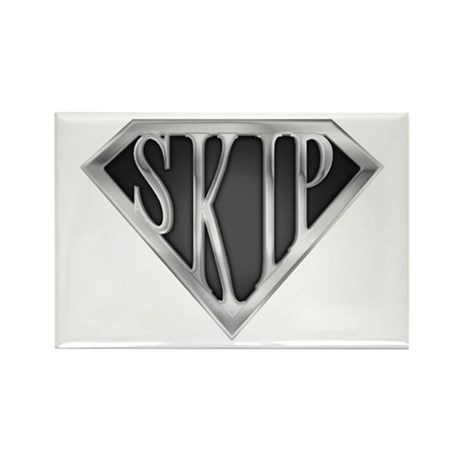 SuperSkip(metal) Rectangle Magnet