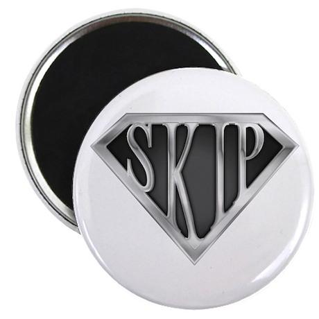"""SuperSkip(metal) 2.25"""" Magnet (10 pack)"""