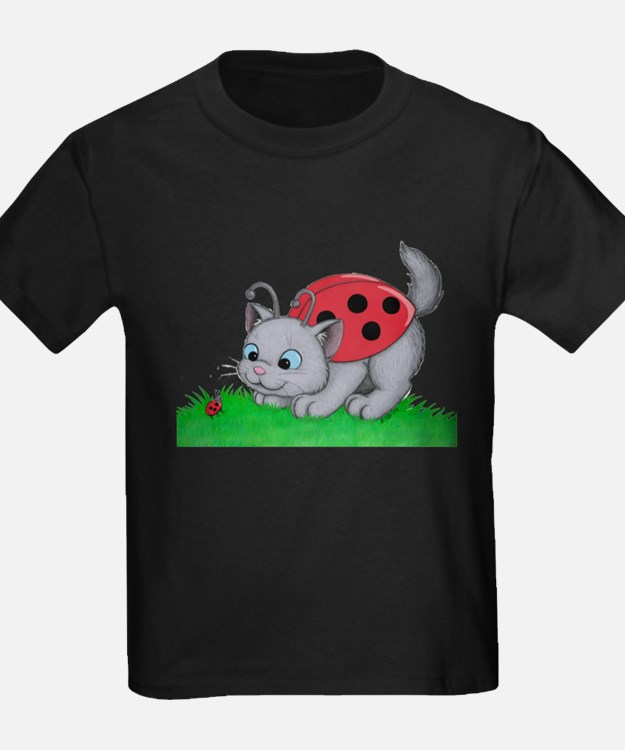 Cute Ladybug for cats T