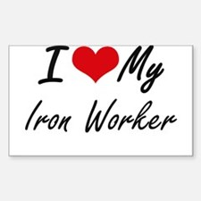 I love my Iron Worker Decal