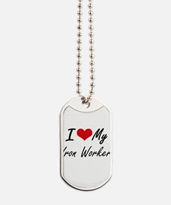 I love my Iron Worker Dog Tags