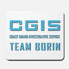CGIS TEAM BORIN Mousepad