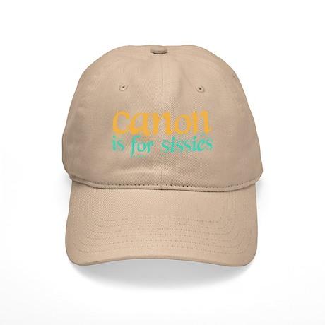 Canon is 4 Sissies Cap