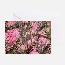 Cool Pink camouflage Greeting Card