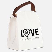 LOVE OT Canvas Lunch Bag