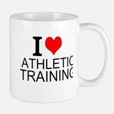 I Love Athletic Training Mugs