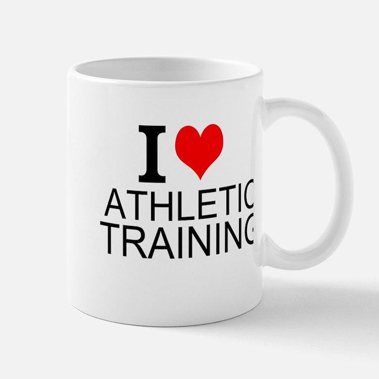 I Love Athletic Training Mugs