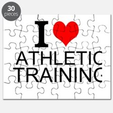 I Love Athletic Training Puzzle