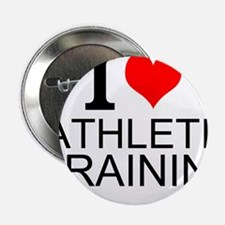 "I Love Athletic Training 2.25"" Button"