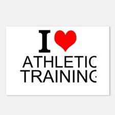 I Love Athletic Training Postcards (Package of 8)