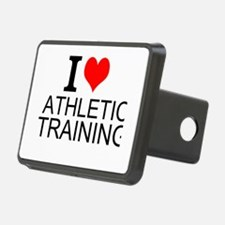 I Love Athletic Training Hitch Cover