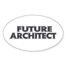 Future Architect Oval Decal