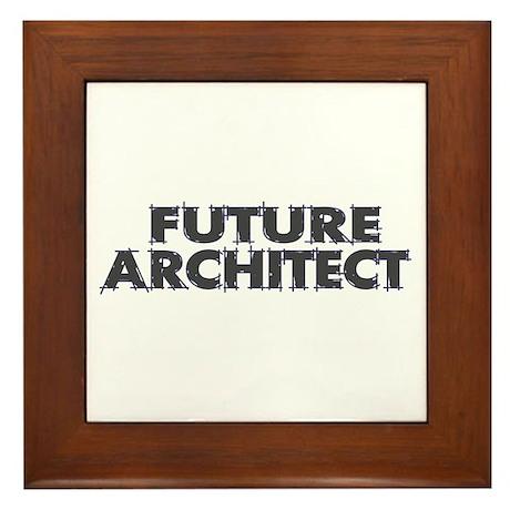 Future Architect Framed Tile