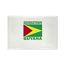 Georgetown, Guyana Rectangle Magnet