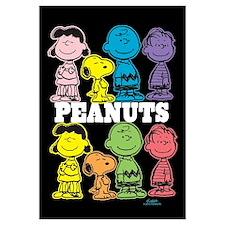 Peanuts Gang - Colorful Wall Art