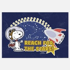 Snoopy - Reach For The Stars Wall Art