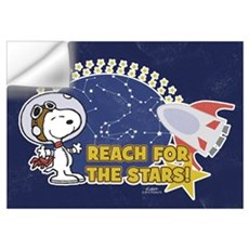 Snoopy - Reach For The Stars Wall Art Wall Decal