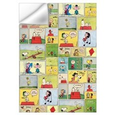 Peanuts - Classic Comic Strip Wall Art Wall Decal