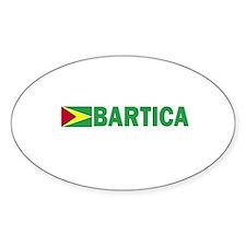 Bartica, Guyana Oval Decal