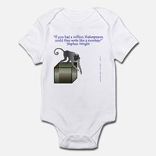 One Million Shakespeares Infant Bodysuit