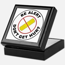 Cute Be safe Keepsake Box