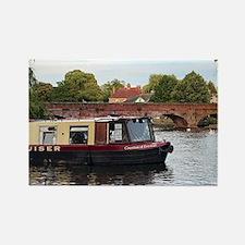 Unique Barges Rectangle Magnet