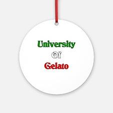 University of Gelato Ornament (Round)