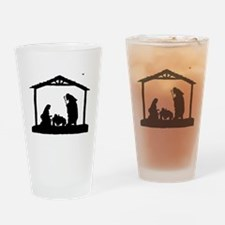 Funny Three wise men Drinking Glass