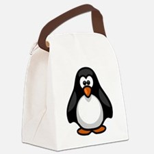 Cute Penguine Canvas Lunch Bag